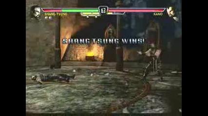 Mortal Kombat Vs Dc - Shang Tsung