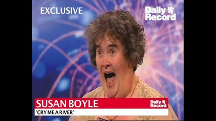 Susan Boyle - Cry Me A River - New Song 17.4.09