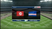 Pro Evolution Soccer 2015 Pc Gameplay { Tunisia - Cape Verde }