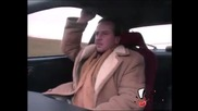 Шофьор качва стопаджии и ги вози с висока скорост ! Скрита камера !