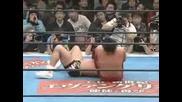 Кеч NJPW Kurt Angle Vs. Shinsuke Nakamura - Големият Бой За Титлите