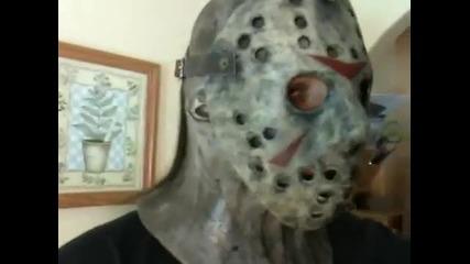 Маската от филма Фреди срещу Джейсън