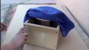 Kak se pravi bass box ot fibro stuklo How to fiberglass (subwoofer enclosure)
