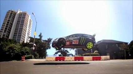 Ken Block drifting