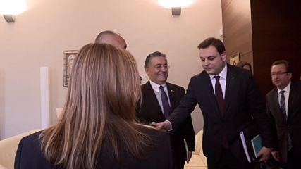 Борисов и турският министър на търговията обсъдиха активизирането на сътрудничеството
