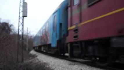 Кпв20204 с 44 140 пристига в Централна гара София.