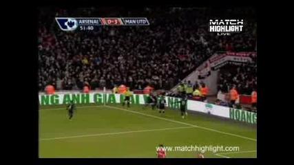 Арсенал - Манчестър Юнайтед 1:3 Гол На Парк