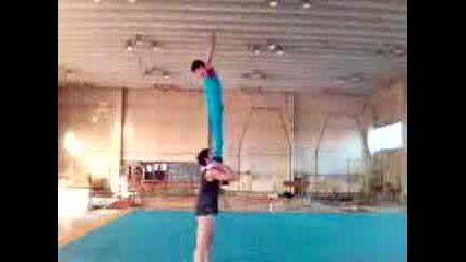 Тренировка На Двойка Мъже - Плевен - 2005г.