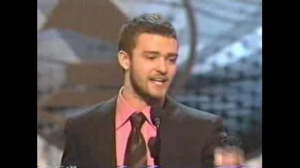 Justin Timberlake - 2004 Grammy Awards