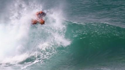 [ Hd ] Сърфинг на забавен кадър