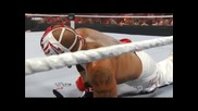 Wwe Raw Rey Mysterio vs John Cena wwe championship part 1 (hd)