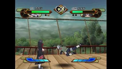 Naruto Gekitou Ninja Taisen Sp - Kakashi Vs. Itachi