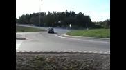 Swedish Bmw E30 Turbo Drift and Burn - 4xe30