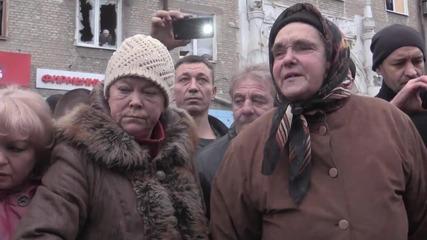 Руски Сепаратисти се гаврят с Украийнци