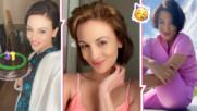 Диана Димитрова отпразнува рожден ден с вкусна торта и направи сериозно обещание