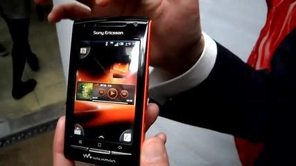 Sony Ericsson Walkman W8 Android