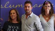 David Bisbal firma el nuevo acuerdo de promocion turistica de la provincia Almeria 2015