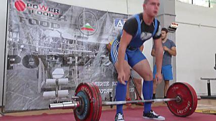 Тяга 200кг - Симеон Павлов