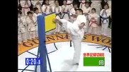 Most Martial Arts Kicks in 1 Min (using one leg)