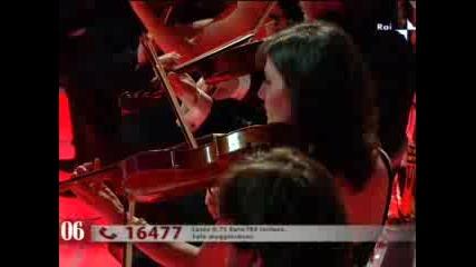 Sanremo 2009 - Francesco Renga - Uomo Senza Eta