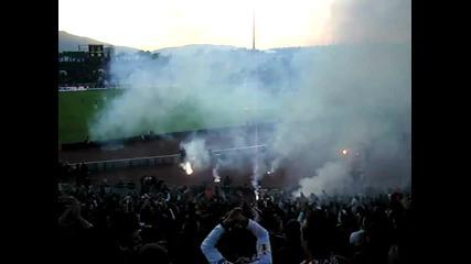 Публиката на Цска Полудя !!! [28.10.2011] Цска - Левски 1-0