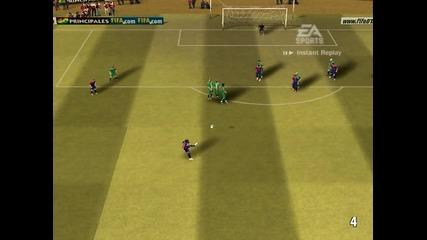 Гол от пряк свободен на Ronaldinho