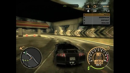 Need For Speed Most wanted Pc Gameplay