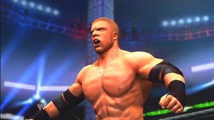 Wwe 2k14_ 30 Years of Wrestlemania - Universe Era - 12 (triple H vs Brock Lesnar - Wm 29)