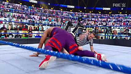 Angelo Dawkins vs. Sami Zayn: SmackDown, March 5, 2021