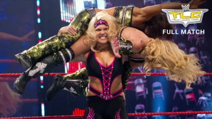 Beth Phoenix & Natalya vs. Lay-Cool - Tables Match: WWE TLC 2010 (Full Match - WWE Network Exclusive)