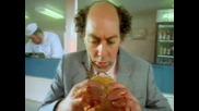 Имаш ли проблем при яденето на хамбургери