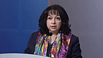 """Петкова: Правителството преговаря с """"Газпром"""" за цената на газа"""