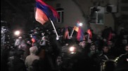 Armenia: Protests in Yerevan as referendum on constitutional reforms takes place