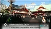 Масова молитва за успех на бизнеса в Япония