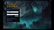 League of Legends - Harrowing 2014 - Login Screen and Music Hd