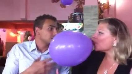 Balon s helii 1