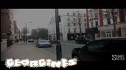 Lamborgini Aventador катастрофира в центъра на Лондон !