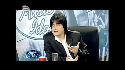 Music Idol 3 - Критиката На Журито - Така Лъха На Кебапчета...