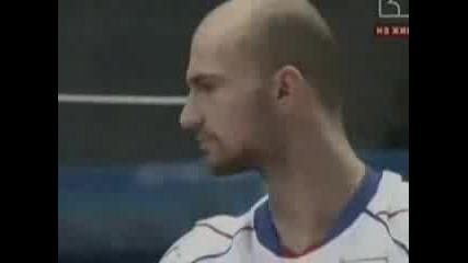 Волейбол: България - Русия 3:2 (5 - Ти Гейм)