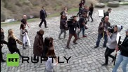 Armenia: Kim Kardashian & Kanye continue ancestral tour of Armenia