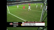 Головете От Мачовете На ЕВРО 08 15.06.08 Русия-Гърция 1:0 Швеция-Испания 1:2
