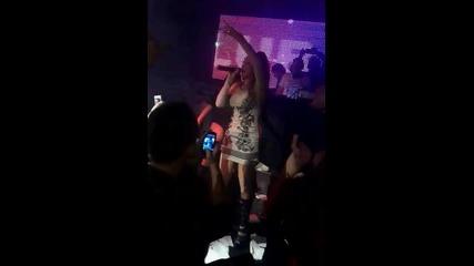 Otilia за първи път в България гр. Ямбол (bilionera) Club Valentin