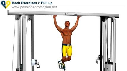 Набиране, упражнение за гръб