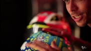 2012 * Valentino Rossi and the story of Mugello_ pt.1 Valentino's iconic helmets