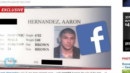 Aaron Hernandez Jail I.D. -- Craigslist Kills Auction