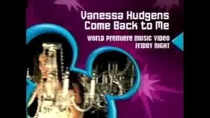 Vanessa Hudgens - Come Back To Me Promo