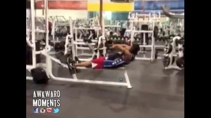 Как Не трябва да тренирате в залата !