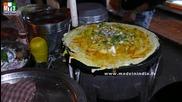 Бърза Храна на улицата .. Masala Dosa - Hot Dosai - Mumbai Street Food