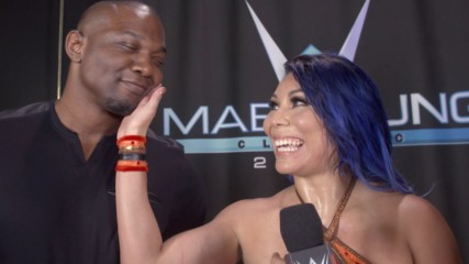 Shelton Benjamin begrudgingly congratulates Mia Yim: WWE.com Exclusive, Sept. 19, 2018