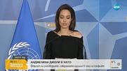 Анджелина Джоли се срещна с шефа на НАТО